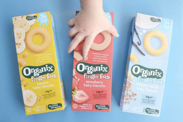 Organix finger food biscuits