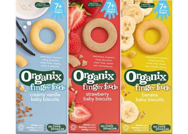 Organix finger food product recall