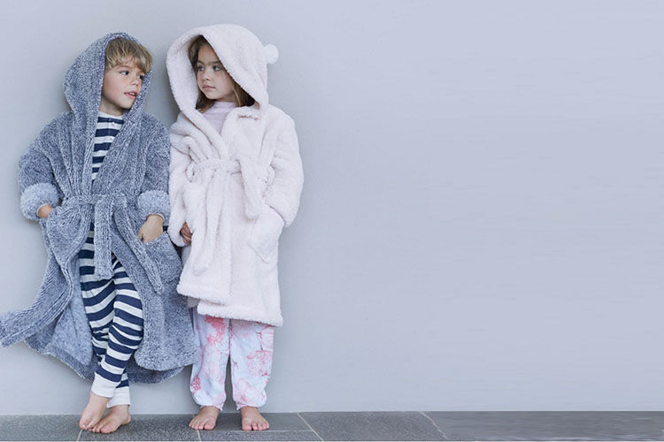 children's dressing gowns with hoods Papinelle