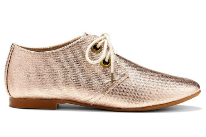 All Seeing gold lace-up women's shoes gift ideas for cool mums