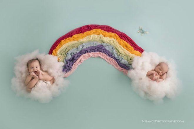 rainbow baby Haggerton family