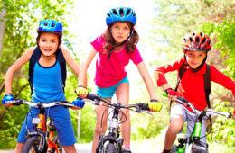 teach kid to ride bike bicycle