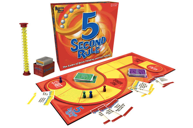 Family Games: 5 second rule board game