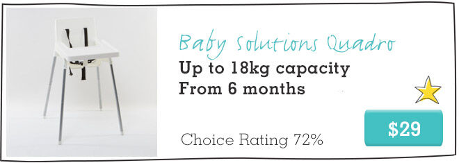 Baby Solutions Quadro Best high chair under $50
