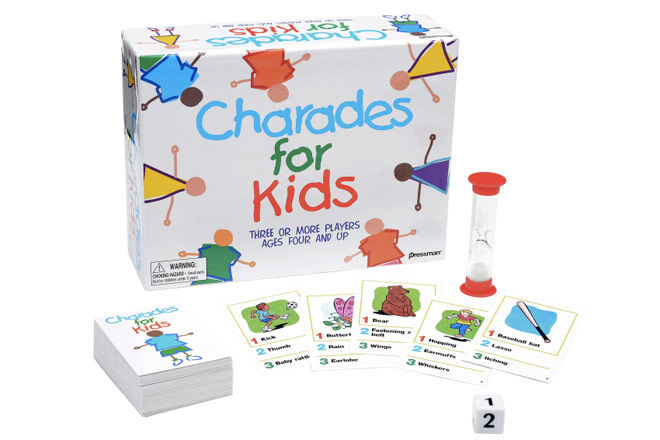 Family Games: aCharades for Kids Board Game