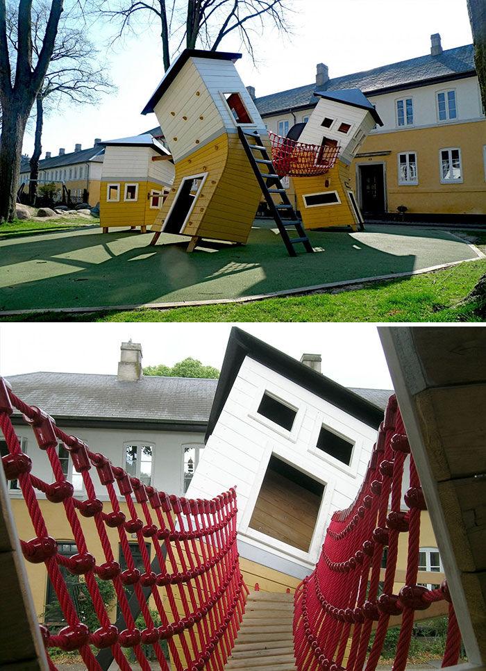 Monstrum playground crooked house