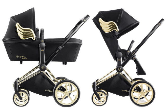 Cybex Priam Stroller Jeremy Scott Wings