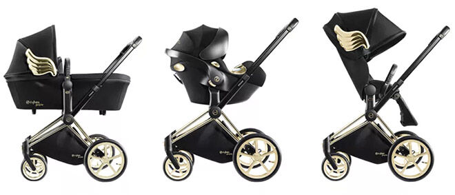 Jeremy Scott Cybex Priam Stroller