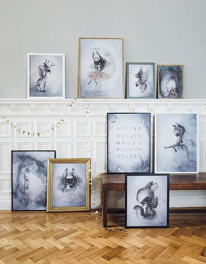 Mrs Mighetto - The End Of The Forest Print Collection