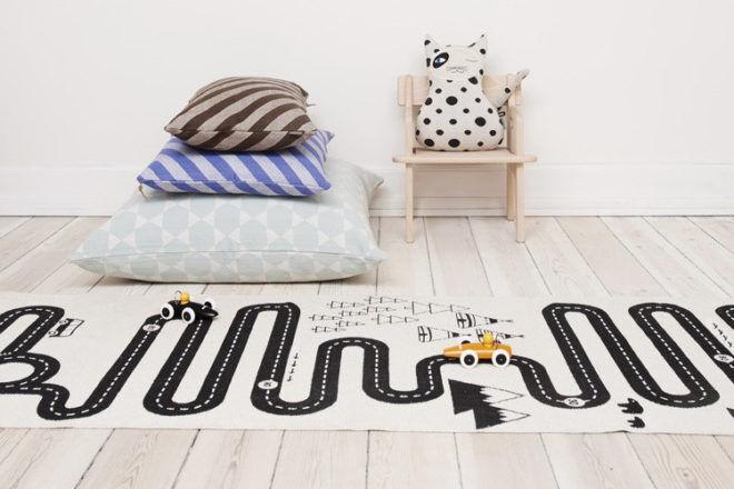 OYOY Adventure rug road play mat