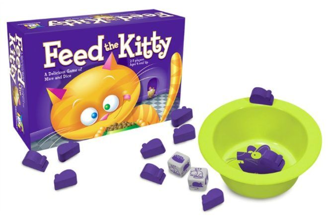 Feed the Kitty best family board games