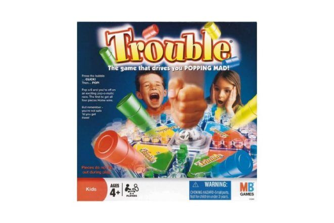 Trouble best family board games