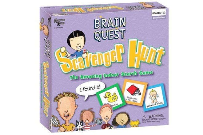 Family Games: Brain Quest Scavenger Hunt
