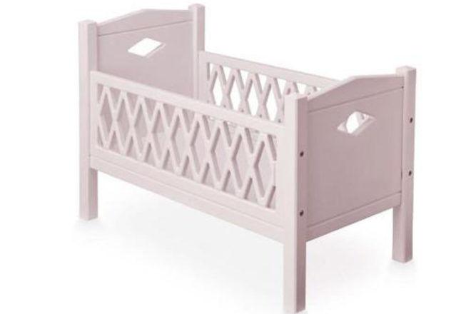 Cam Cam Harlequin Doll's Bed