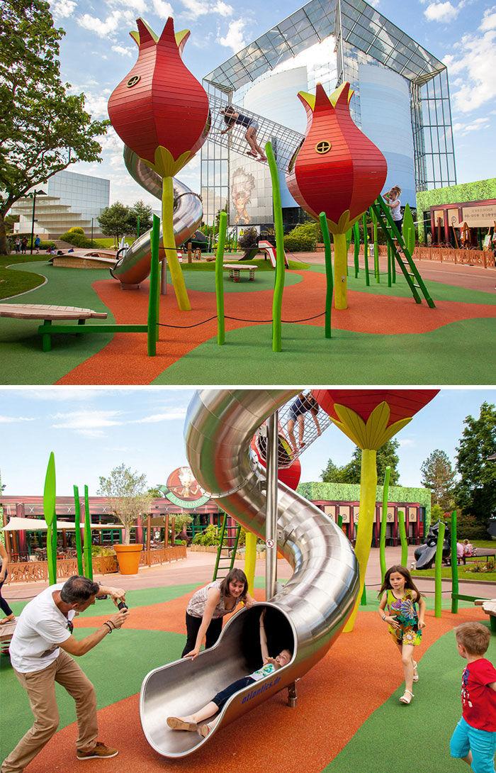 Monstrum playground futuroscope