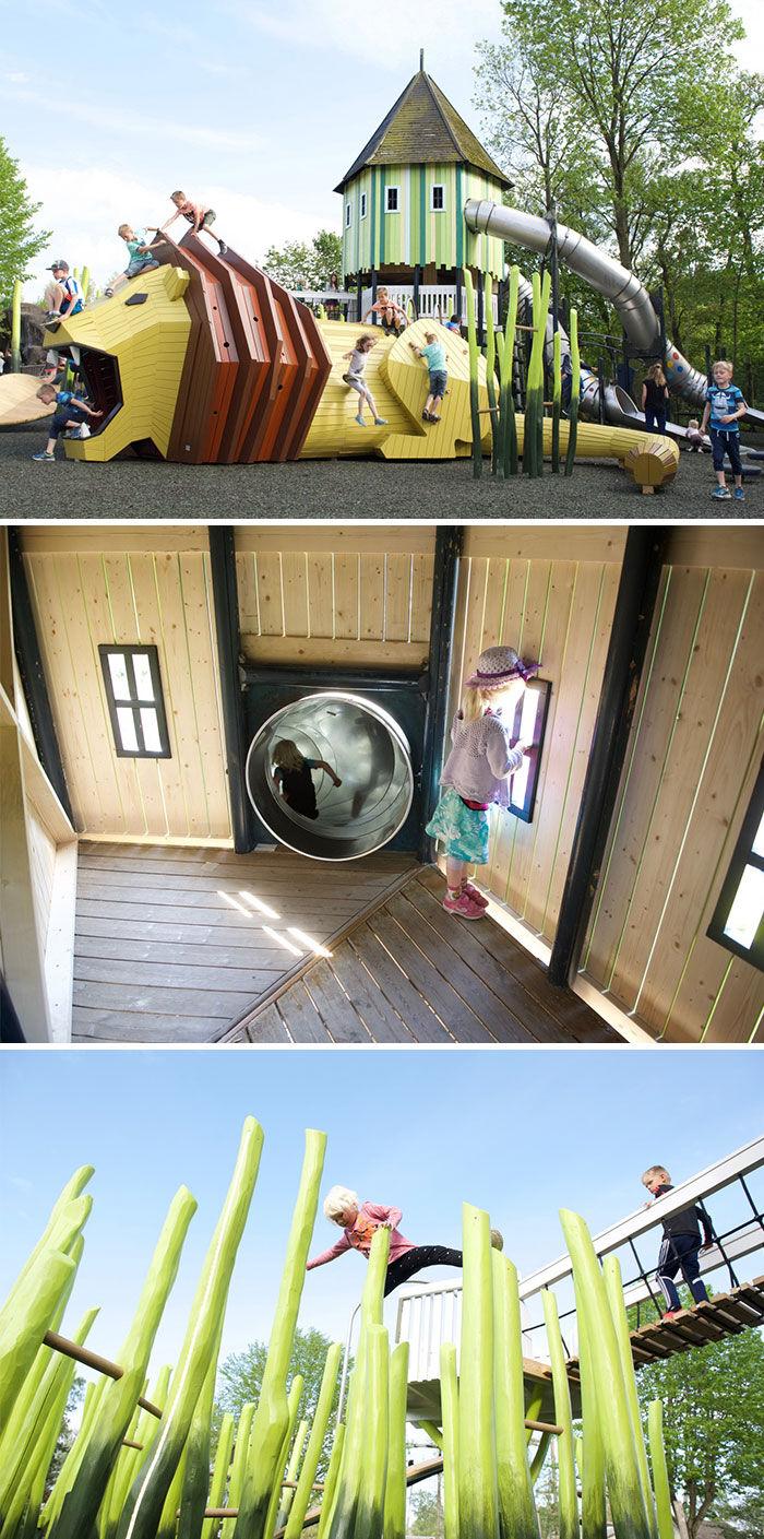Monstrum playground odense Zoo