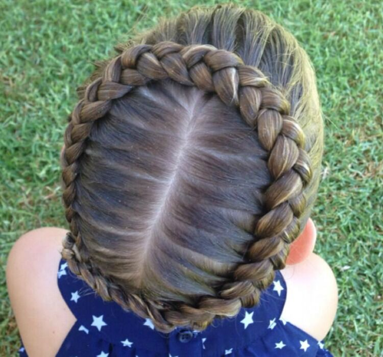 how to crown braid