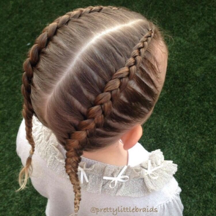 how to Dutch braid easy braids for girls