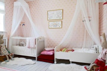 Baby and Toddler shared bedroom