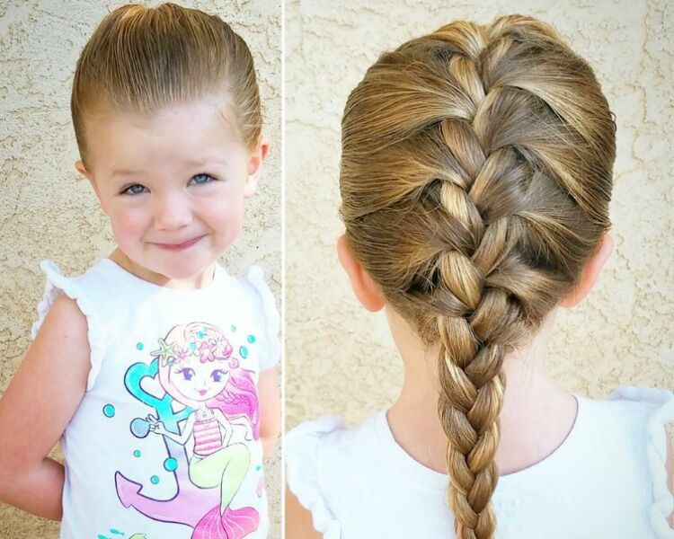 Easy Braid Hairstyles For School Mum S Grapevine