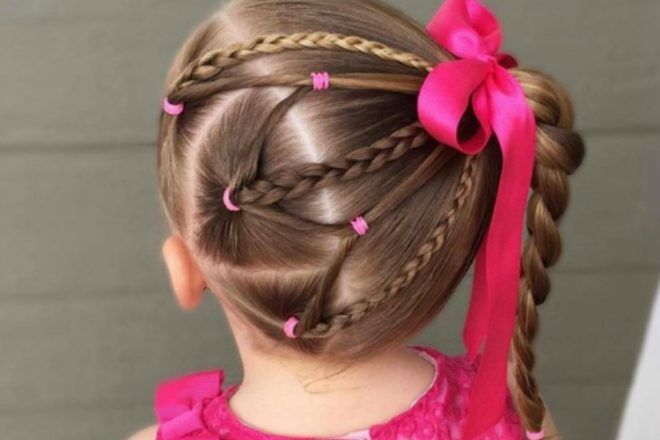 how to elastic braid easy braids for girls