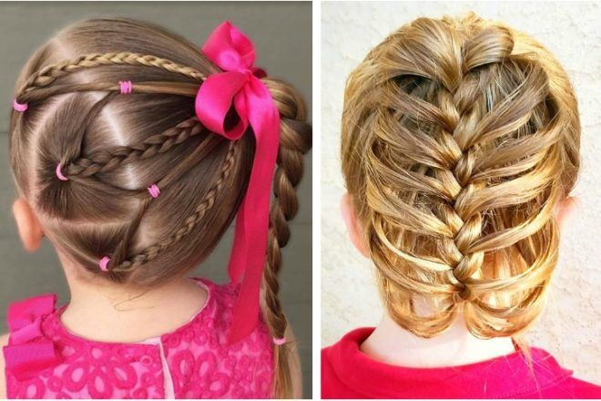 Looking For Some Cute New Ways To Keep Your Little Oneu0027s Hair Neat All Day  Long? We Went To The Hair Braiding Experts To Uncover A Few Super Easy Braid  ...