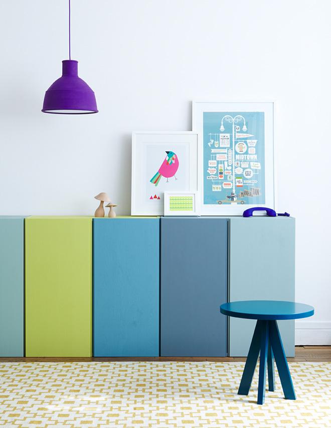 IKEA IVAR cabinet hacks ideas