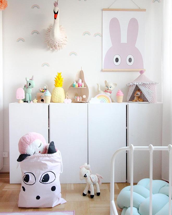 IKEA IVAR cabinet hack nursery ideas