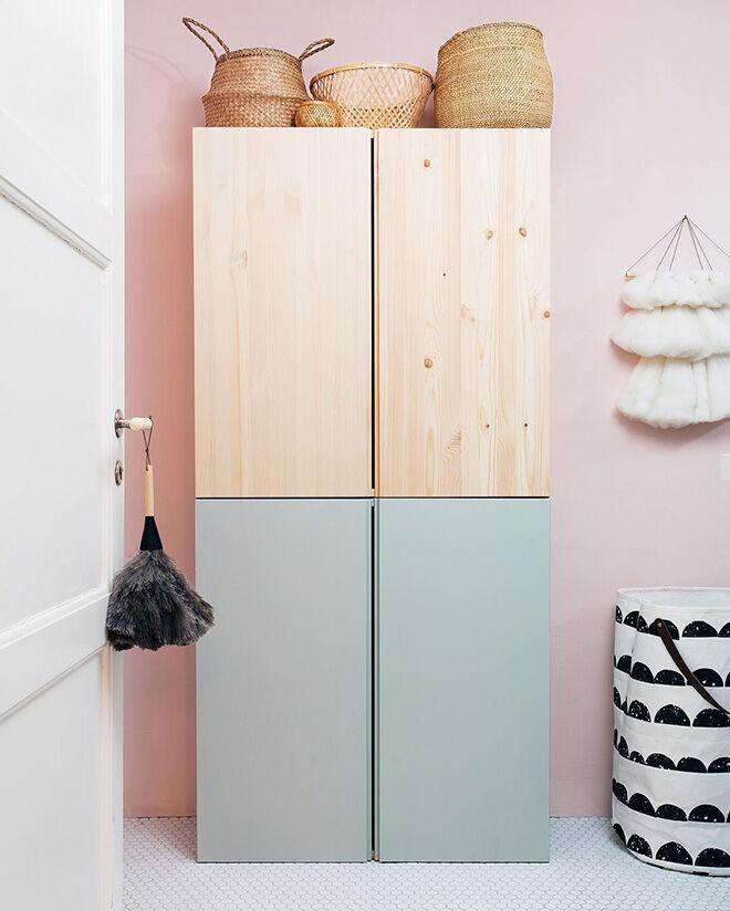 IKEA IVAR Hack: 10 ways to prettify the plain pine cabinet