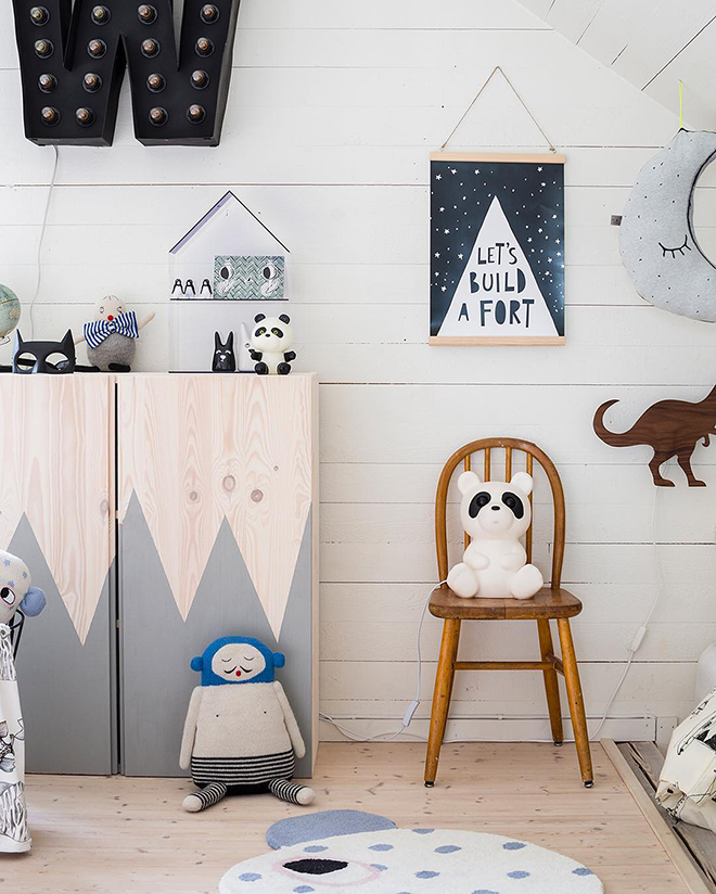 IKEA IVAR cabinet hacks paint
