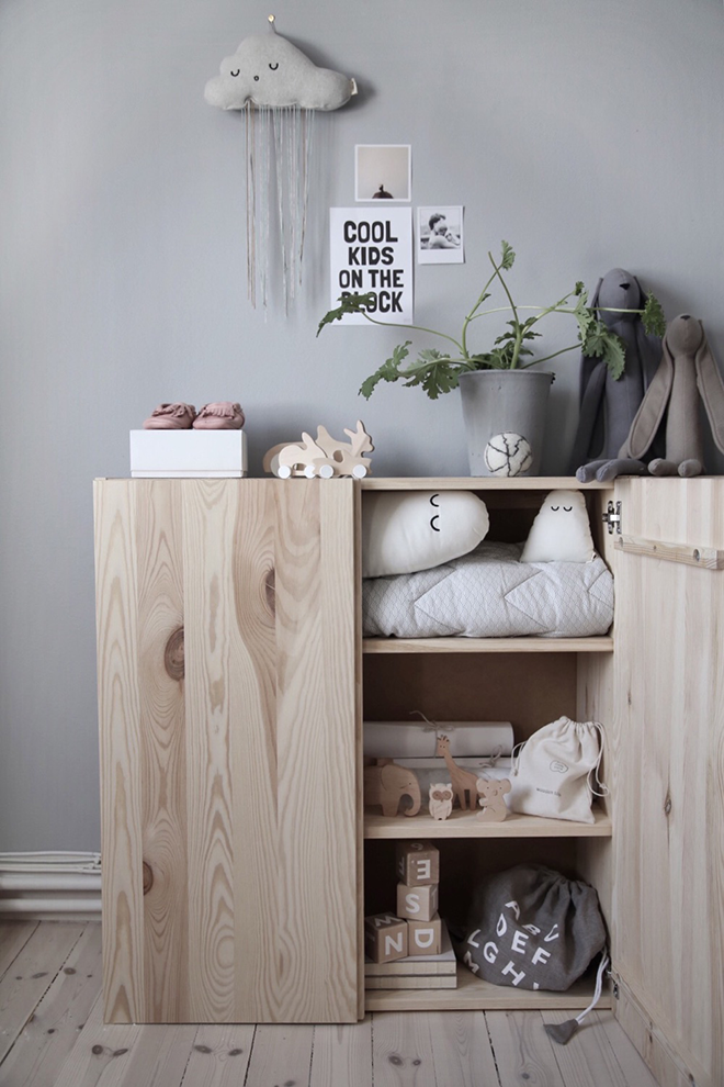 ikea ivar hack 10 ways to prettify the plain pine cabinet. Black Bedroom Furniture Sets. Home Design Ideas