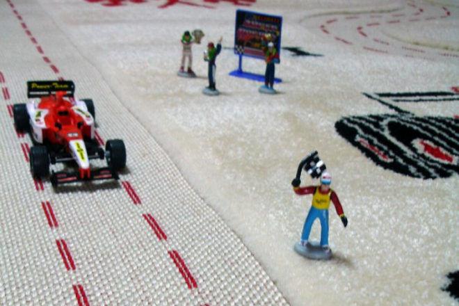IVI interactive road rug play mat