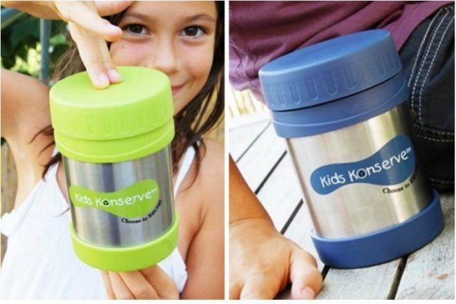 Kids Konserve food jars
