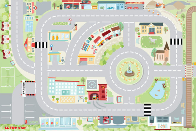Le Toy Van car play mat