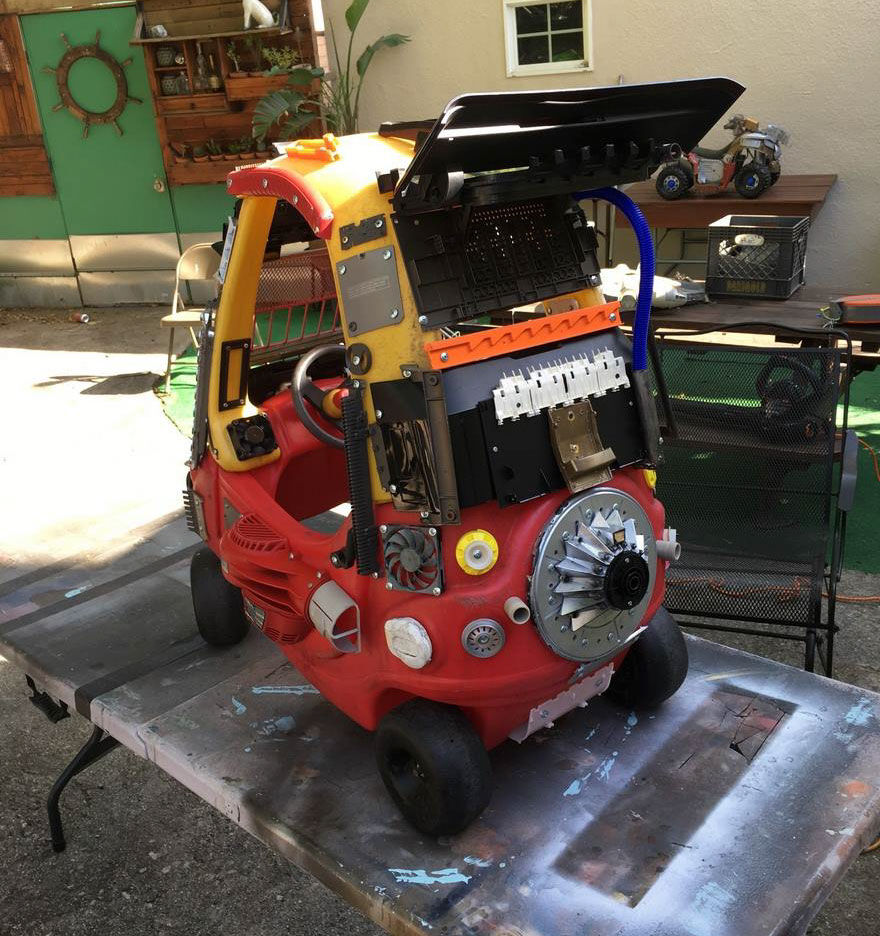 Mad Max Cozy Coupe makeover