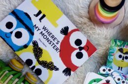 Where's My Monster personalised children's book