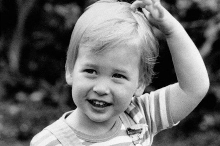 Princes William at two