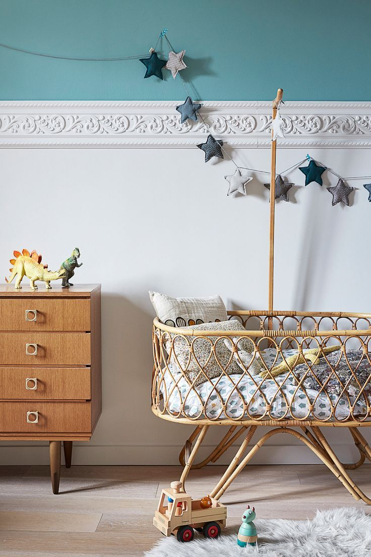 The Rattan Collective Natural Rattan Baby Bassinets Mum