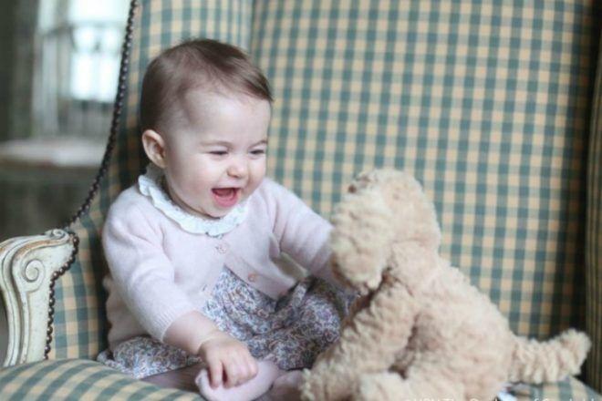 Princess Charlotte baby photo