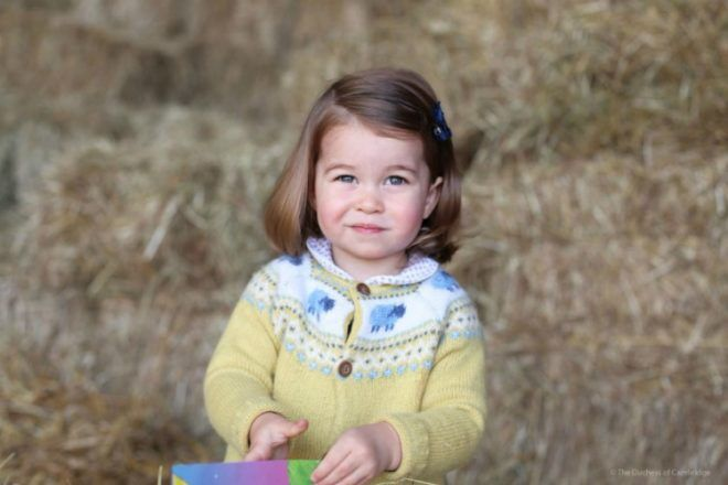 Princess Charlotte second birthday photo