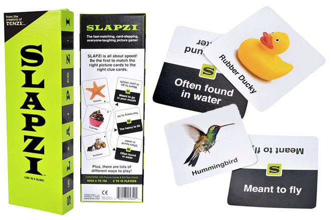Family Games: Slapzi card game