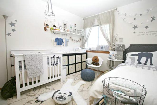 star Wars Shared kids bedroom