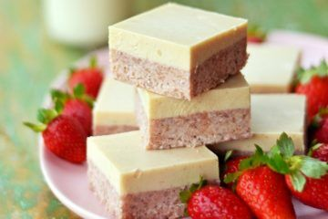 Kids Eat by Shanai raw strawberry slice