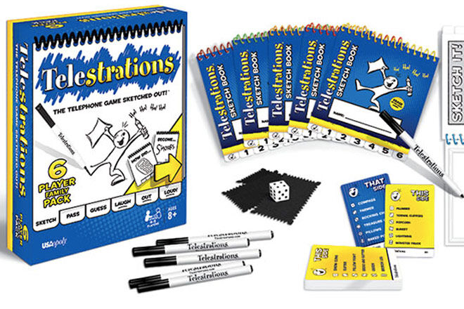 Family Games: Telestrations