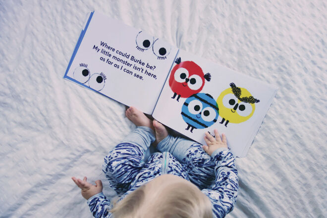 Hippo Blue's Wheres My Monster personalised book