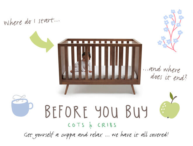 Before you buy a cot or crib guide