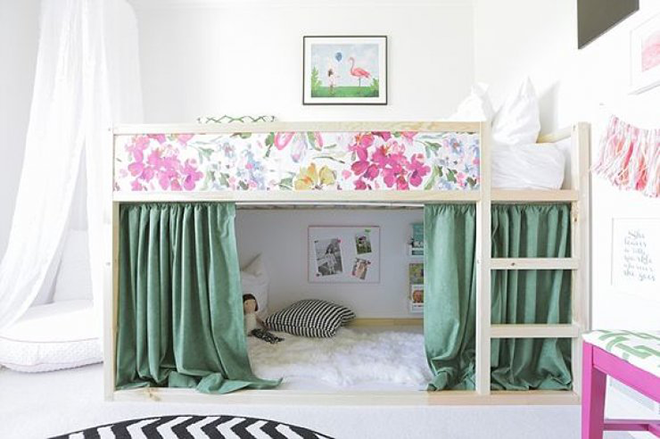5 Easy And Stylish Makeovers For The Ikea Kura Bed Mum S