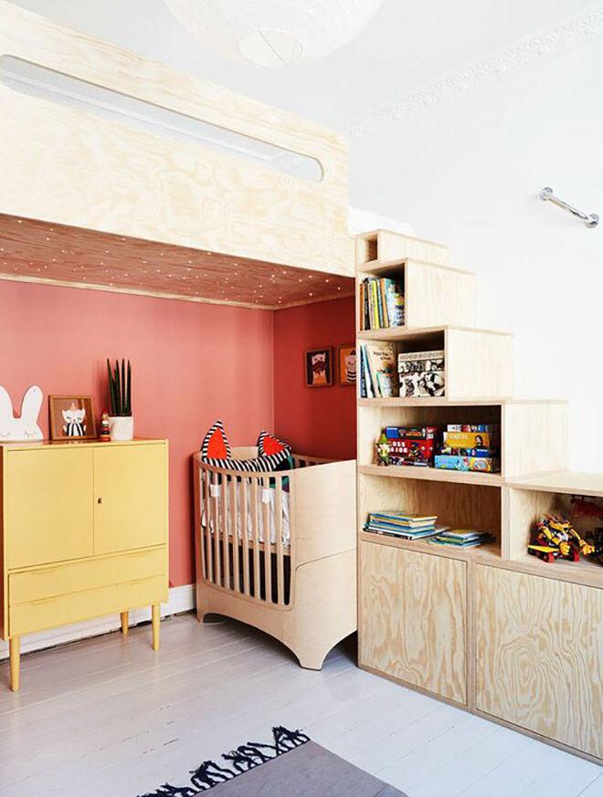 plywood furniture nursery ideas