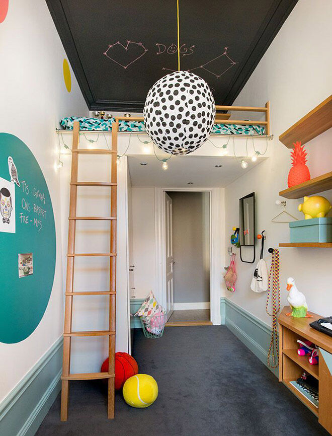 loft bed ideas for children's rooms