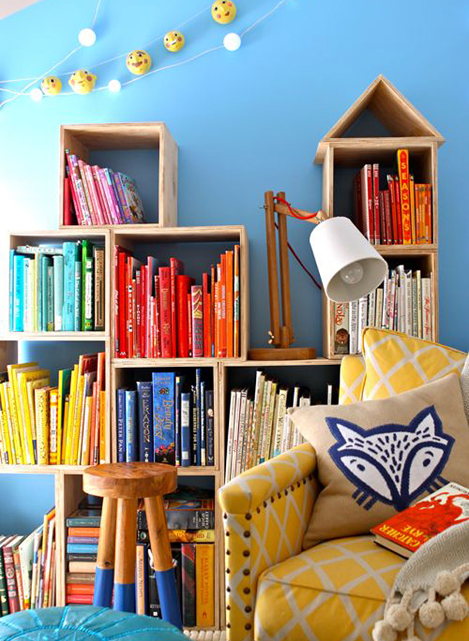shelving ideas for book collections